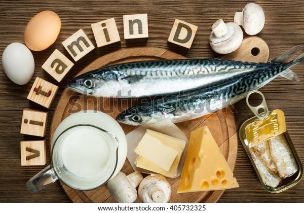 vitamin d rik mat