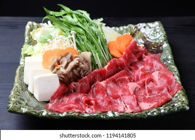foodstuff of shabu shabu