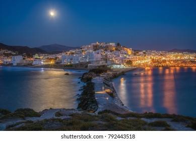 Fool moon in Naxos Island!