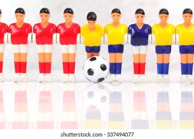foosball players