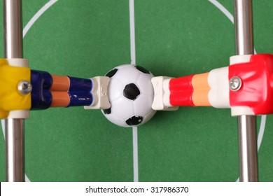 foosball. table football
