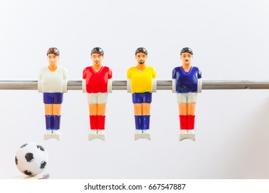 foosball table soccer sport teame football players
