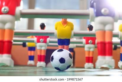 Foosball.football table
