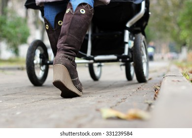 foot steps with stroller
