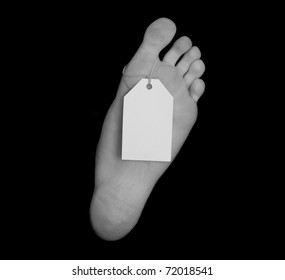Toe Tag Images, Stock Photos & Vectors | Shutterstock