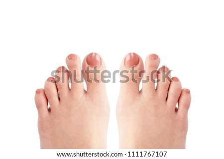 Asian foot thumbs