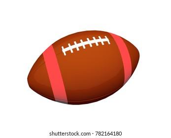 football 3D rendering