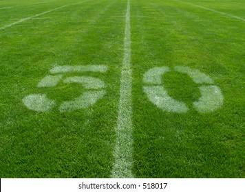 football 50-yard line