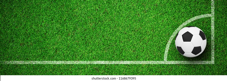 Football against close up view of astro turf