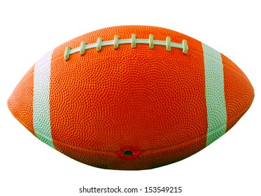 A football for american football isolated over white