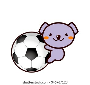 Football and Animal Series
