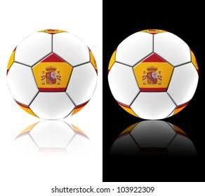 Football artwork european team on two tone background.
