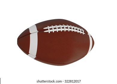 football ball isolated on white background