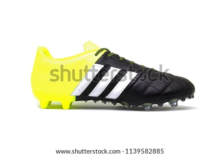 e3043587277 Football Boots Soccer Shoes Adidas Ace Stock Photo (Edit Now ...