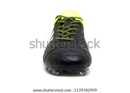 8557c74415cb80 Football Boots Soccer Shoes Adidas Ace Stock Photo (Edit Now ...
