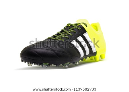 330cb6dc3e5d Football boots or soccer shoes, Adidas ace 15.2 leather firm ground and  artificial grass -