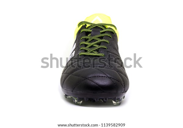 sale retailer 58cec cdb2d Football Boots Soccer Shoes Adidas Ace Stock Photo (Edit Now ...