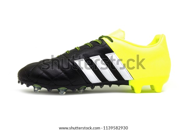 sale retailer eaf18 9a854 Football Boots Soccer Shoes Adidas Ace Stock Photo (Edit Now ...