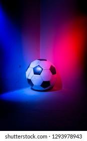 Football in the corner