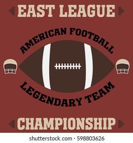 football east league t-shirt vintage