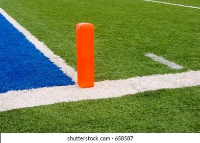 Football end zone (horizontal)