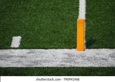 Football Endzone Goal Line Corner Marker
