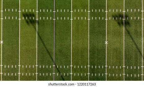 Football Field Aerial View
