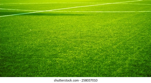 Football Field Grass./Football Field.