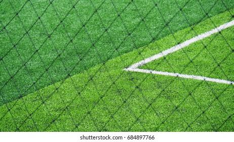 Football field, soccer field grass