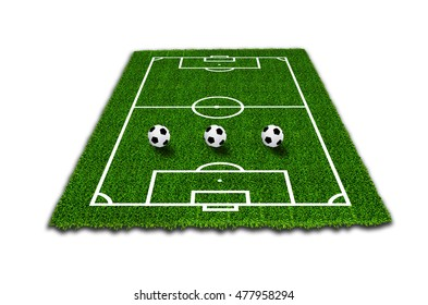 Football field or soccer field texture background.
