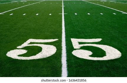 Football field symbolizing the big game in 2021