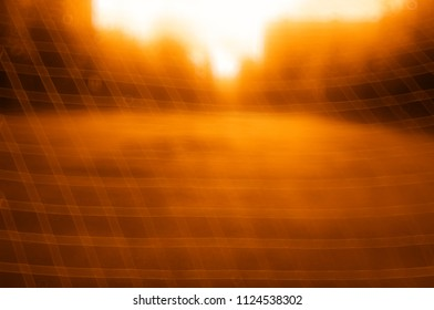 Football goal net bokeh background