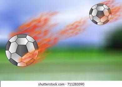 football goal speed fire danger
