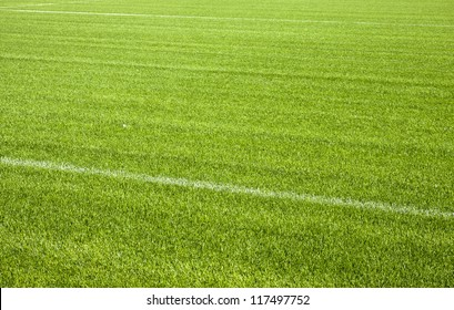 Football grass background