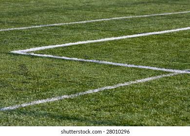football grass background detail