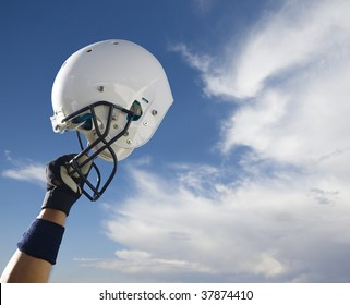 Football Helmet in the clouds (Extra Large)