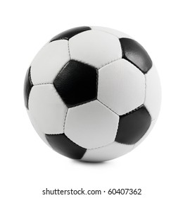 Football. Isolated on white background.
