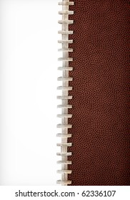 Football Laces Layout Extra Large Size