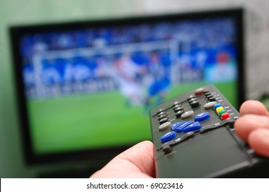 Football match and remote control