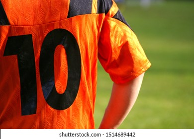 football player number 10 stricker