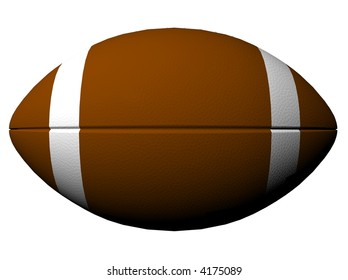 Football, rendered with Bryce 6