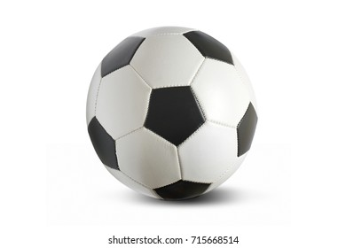 Football soccer ball isolated on a white background.