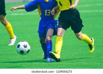 football soccer in Japan