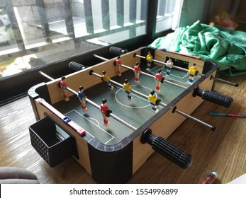 football table for kid and parents
