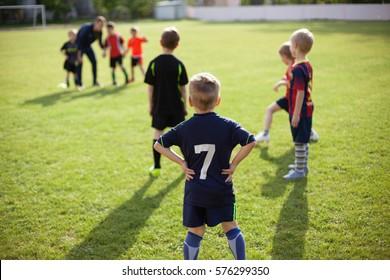 football training children