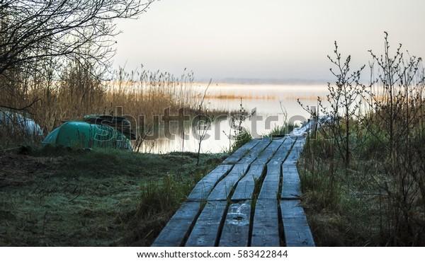 Footbridge in Latvia