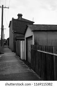 Footpath on a sidestreet