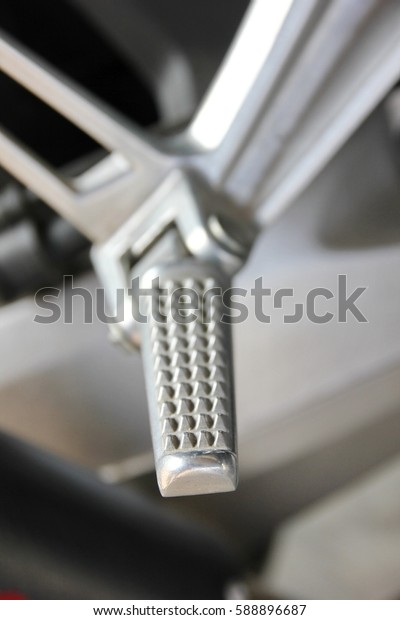 footrest accessory design for big bike motorcycle