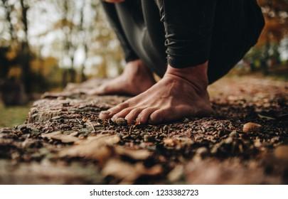 foots of joga men