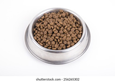 Forage for our cats and kittens isolated on a white background.